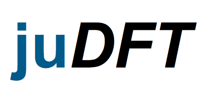 juDFT - Home of the DFT codes in Juelich